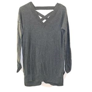 If It Were Me Anthropologie knit Sweater XS green